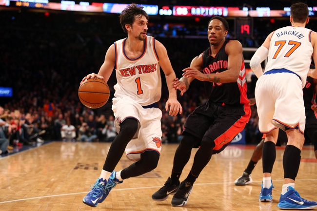 Raptors vs. Knicks - 3/22/15 NBA Pick, Odds, and Prediction
