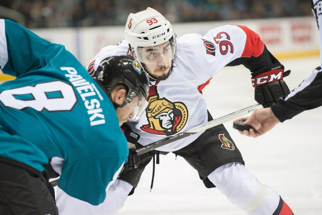 Ottawa Senators vs. San Jose Sharks - 3/23/15 NHL Pick, Odds, and Prediction