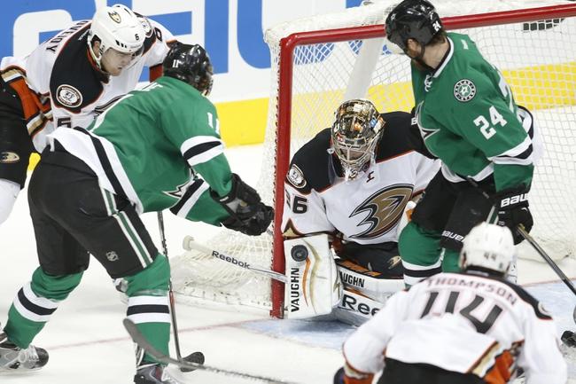 Anaheim Ducks vs. Dallas Stars - 4/8/15 NHL Pick, Odds, and Prediction