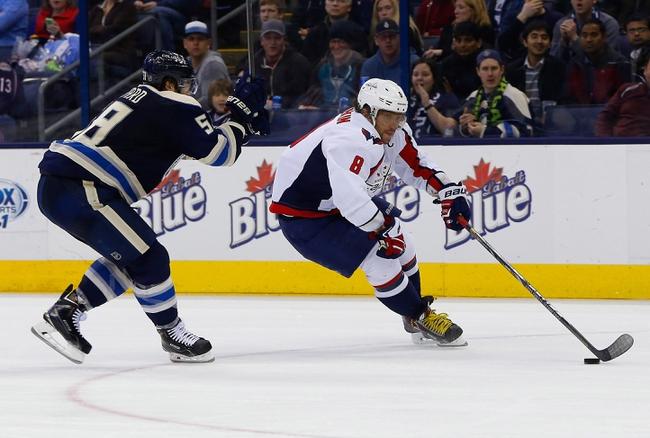 Washington Capitals vs. Columbus Blue Jackets - 10/30/15 NHL Pick, Odds, and Prediction