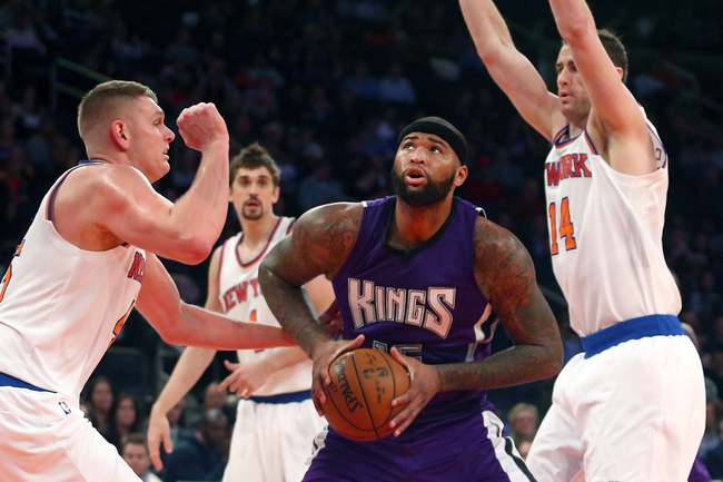 Kings vs. Knicks - 12/10/15 NBA Pick, Odds, and Prediction