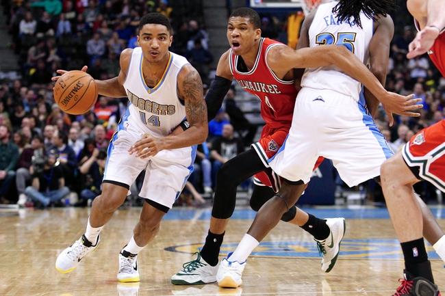 Denver Nuggets vs. Milwaukee Bucks - 11/11/15 NBA Pick, Odds, and Prediction