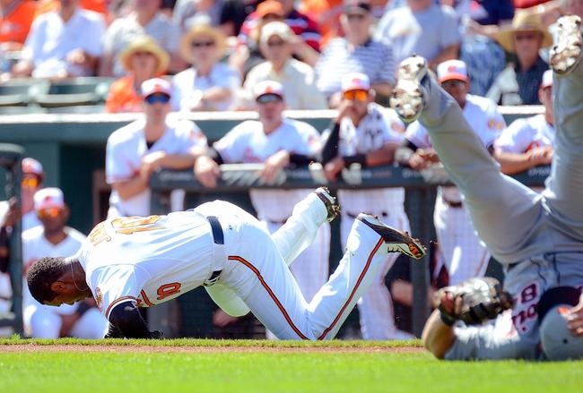 Detroit Tigers vs. Baltimore Orioles - 7/18/15 MLB Pick, Odds, and Prediction