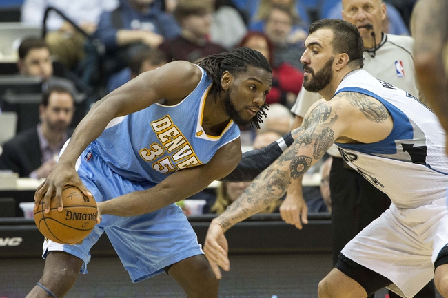 Denver Nuggets vs. Minnesota Timberwolves - 10/30/15 NBA Pick, Odds, and Prediction