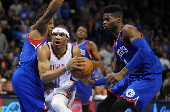 Oklahoma City Thunder vs. Philadelphia 76ers - 11/13/15 NBA Pick, Odds, and Prediction