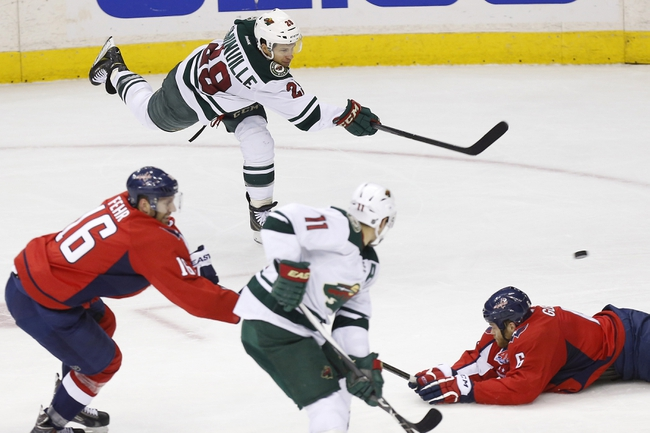 Minnesota Wild vs. Washington Capitals - 3/19/15 NHL Pick, Odds, and Prediction