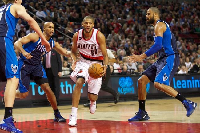 Trail Blazers at Mavericks - 4/15/15 NBA Pick, Odds, and Prediction