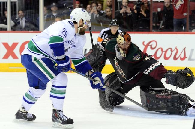 Coyotes vs. Canucks - 3/22/15 NHL Pick, Odds, and Prediction