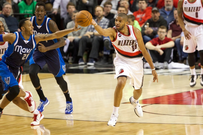 Dallas Mavericks vs. Portland Trail Blazers - 4/15/15 NBA Pick, Odds, and Prediction