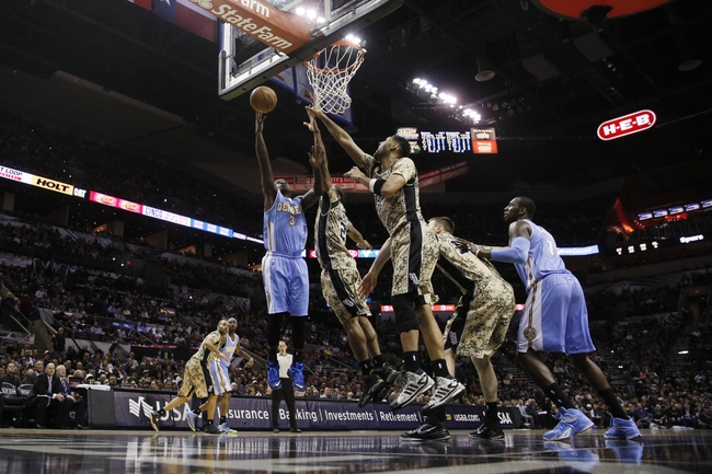 Spurs vs. Nuggets - 4/3/15 NBA Pick, Odds, and Prediction