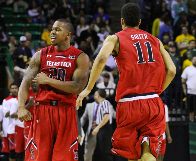 Texas Tech Red Raiders vs. Richmond Spiders - 12/29/15 College Basketball Pick, Odds, and Prediction