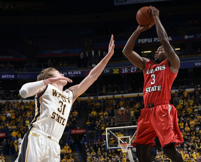 Illinois State vs. Wichita State - 2/6/16 College Basketball Pick, Odds, and Prediction
