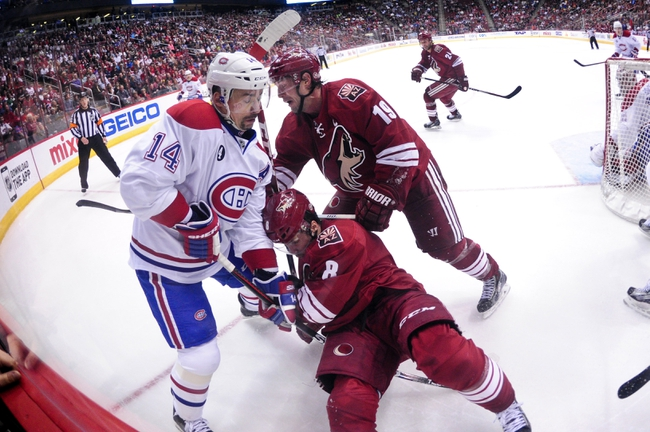 Montreal Canadiens vs. Arizona Coyotes - 11/19/15 NHL Pick, Odds, and Prediction