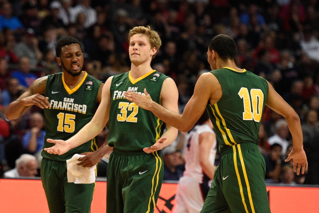 San Francisco Dons vs. Gonzaga Bulldogs - 1/2/16 College Basketball Pick, Odds, and Prediction