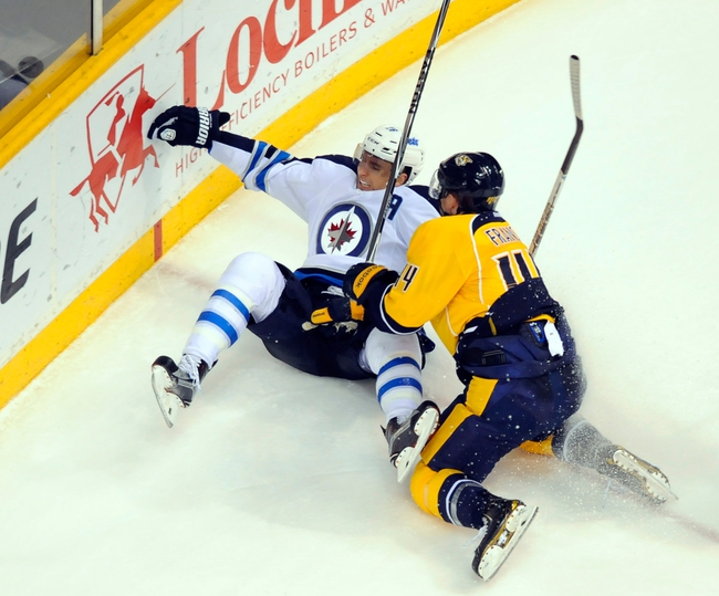 Nashville Predators vs. Winnipeg Jets - 11/14/15 NHL Pick, Odds, and Prediction