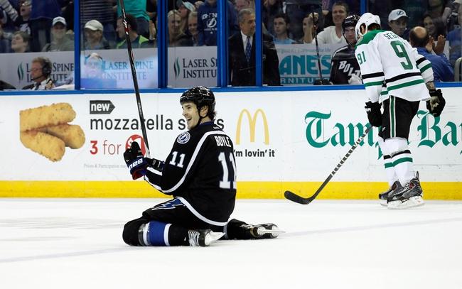 Tampa Bay Lightning vs. Dallas Stars - 10/15/15 NHL Pick, Odds, and Prediction