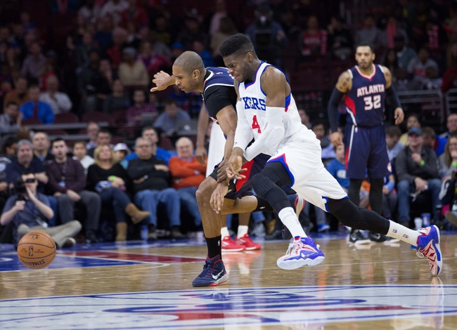 Atlanta Hawks vs. Philadelphia 76ers - 12/16/15 NBA Pick, Odds, and Prediction