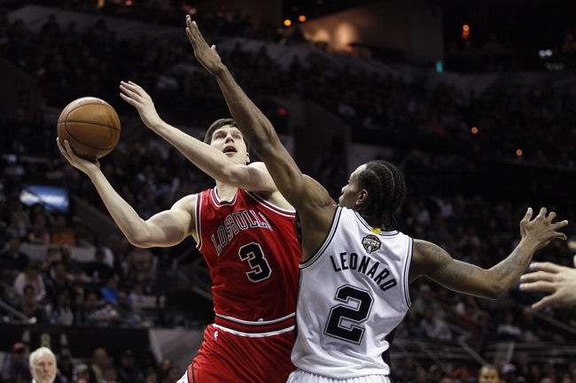Bulls vs. Spurs - 11/30/15 NBA Pick, Odds, and Prediction