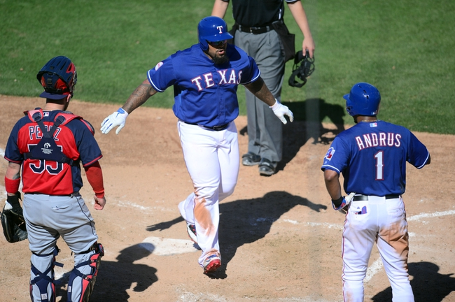 Indians at Rangers - 5/15/15 MLB Pick, Odds, and Prediction