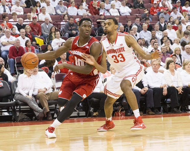 Wisconsin vs. Ohio State - 2/4/16 College Basketball Pick, Odds, and Prediction