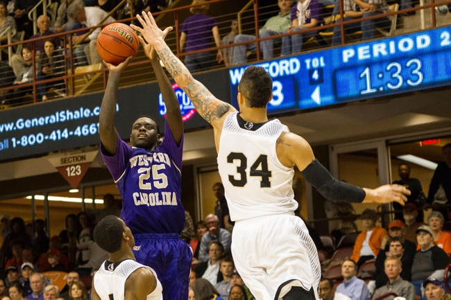 Wofford vs. Western Carolina - 3/5/16 College Basketball Pick, Odds, and Prediction