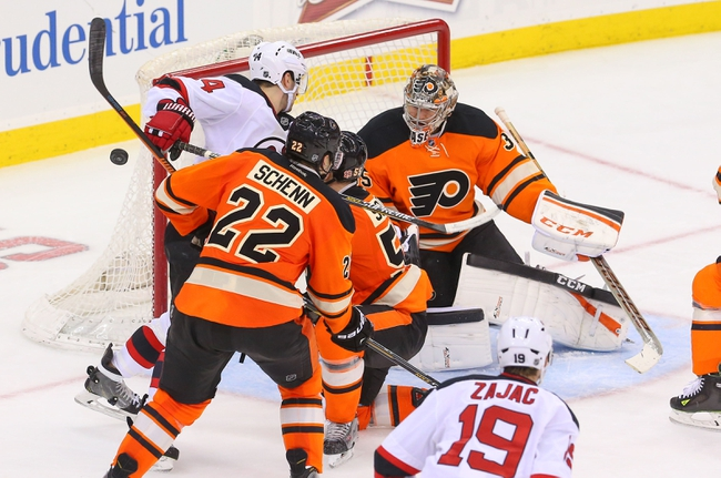 Philadelphia Flyers vs. New Jersey Devils - 10/29/15 NHL Pick, Odds, and Prediction