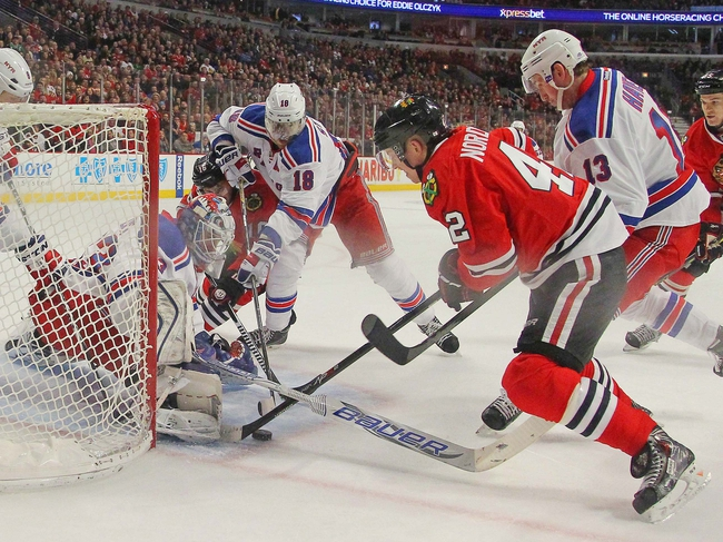 New York Rangers vs. Chicago Blackhawks - 3/18/15 NHL Pick, Odds, and Prediction