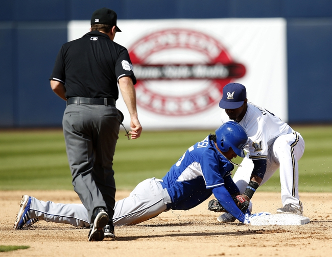 Kansas City Royals vs. Milwaukee Brewers - 6/17/15 MLB Pick, Odds, and Prediction