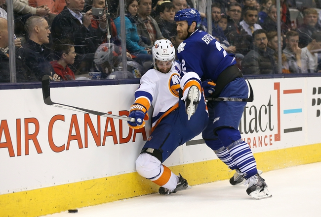 New York Islanders vs. Toronto Maple Leafs - 12/27/15 NHL Pick, Odds, and Prediction