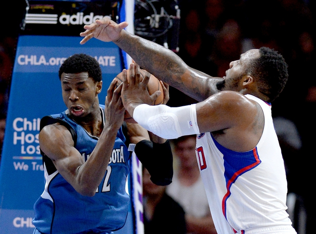 Clippers vs. Timberwolves - 11/29/15 NBA Pick, Odds, and Prediction