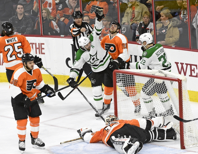 Stars at Flyers - 10/20/15 NHL Pick, Odds, and Prediction