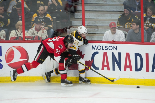 Senators vs. Bruins - 3/19/15 NHL Pick, Odds, and Prediction
