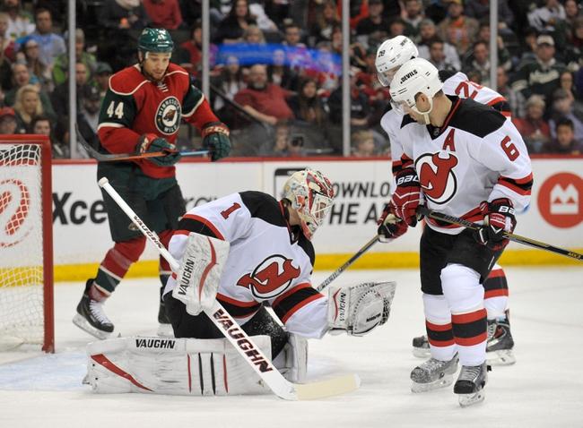 New Jersey Devils vs. Minnesota Wild - 10/22/16 NHL Pick, Odds, and Prediction