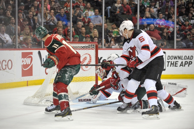 Wild vs. Devils - 1/10/16 NHL Pick, Odds, and Prediction