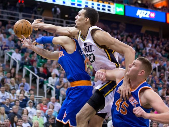 Utah Jazz vs. New York Knicks - 12/9/15 NBA Pick, Odds, and Prediction