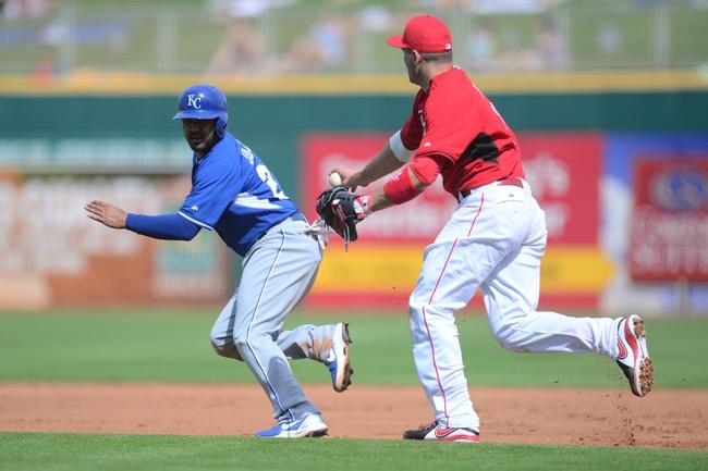 Royals vs. Reds - 5/19/15 MLB Pick, Odds, and Prediction
