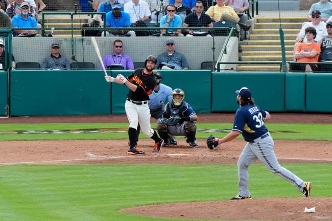 Milwaukee Brewers vs. San Francisco Giants - 5/25/15 MLB Pick, Odds, and Prediction