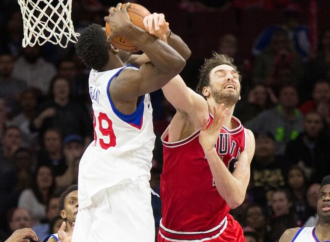 Chicago Bulls vs. Philadelphia 76ers - 4/11/15 NBA Pick, Odds, and Prediction