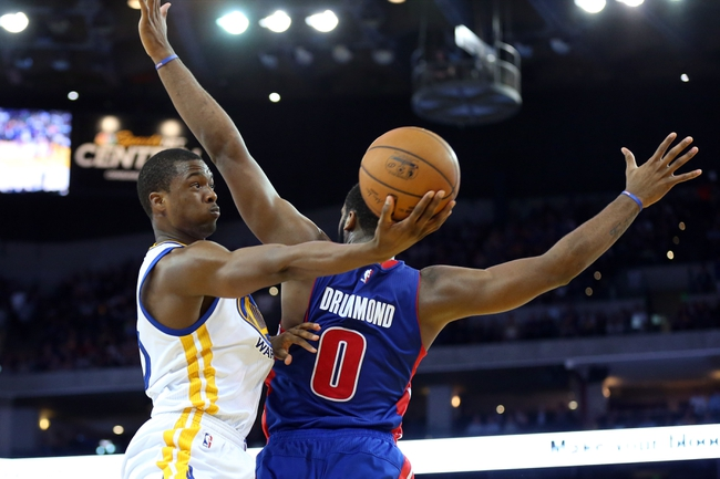 Golden State Warriors vs. Detroit Pistons - 11/9/15 NBA Pick, Odds, and Prediction