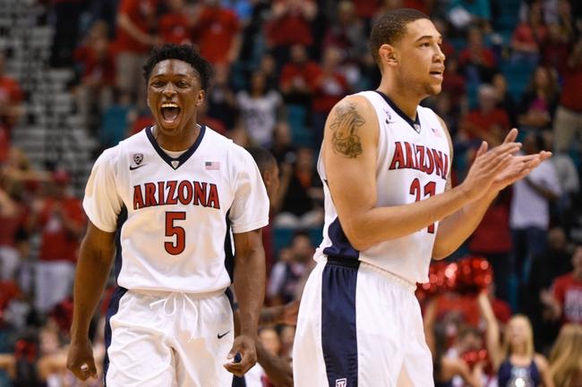 Arizona vs. UCLA Pac-12 Tournament - 3/13/15 College Basketball Pick, Odds, and Prediction