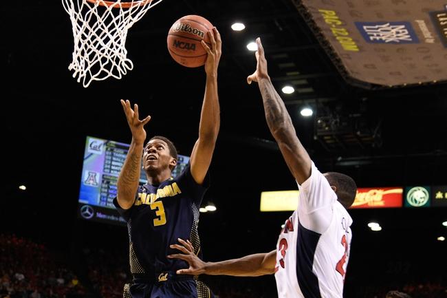 Arizona vs. California - 3/3/16 College Basketball Pick, Odds, and Prediction