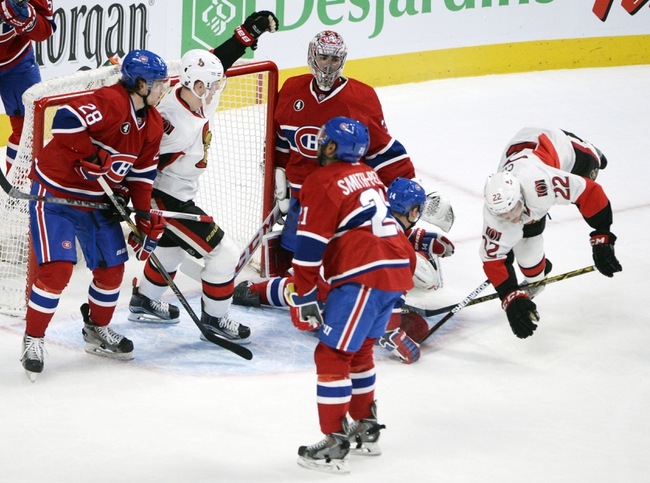 Montreal Canadiens vs. Ottawa Senators Stanley Cup Playoffs - 4/15/15 NHL Pick, Odds, and Prediction