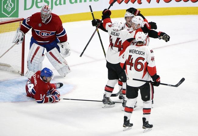 Senators at Canadiens - 4/15/15 NHL Pick, Odds, and Prediction