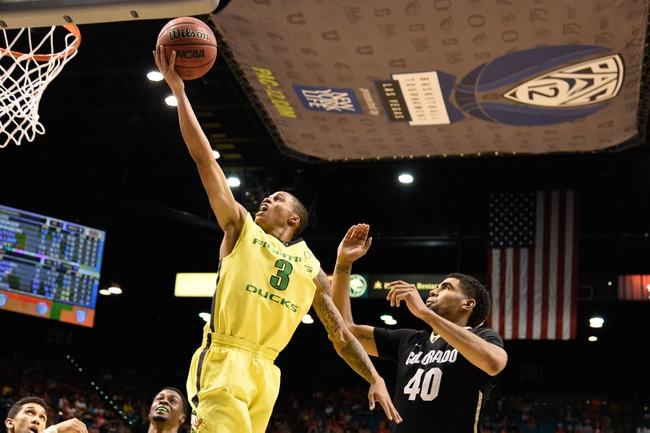 Utah vs. Oregon Pac-12 Tournament - 3/13/15 College Basketball Pick, Odds, and Prediction