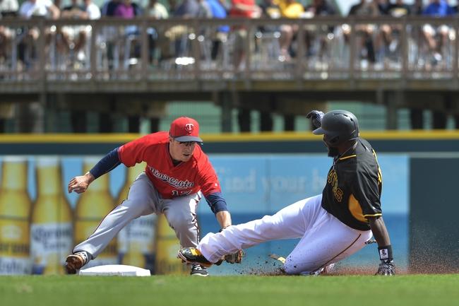 Pirates vs. Twins - 5/19/15 MLB Pick, Odds, and Prediction