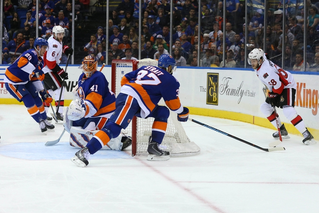Ottawa Senators vs. New York Islanders - 12/5/15 NHL Pick, Odds, and Prediction
