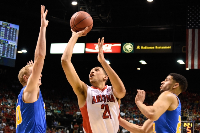 Arizona vs. Oregon Pac-12 Tournament - 3/14/15 College Basketball Pick, Odds, and Prediction