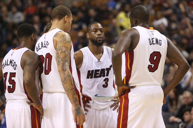 Raptors at Heat - 4/11/15 NBA Pick, Odds, and Prediction