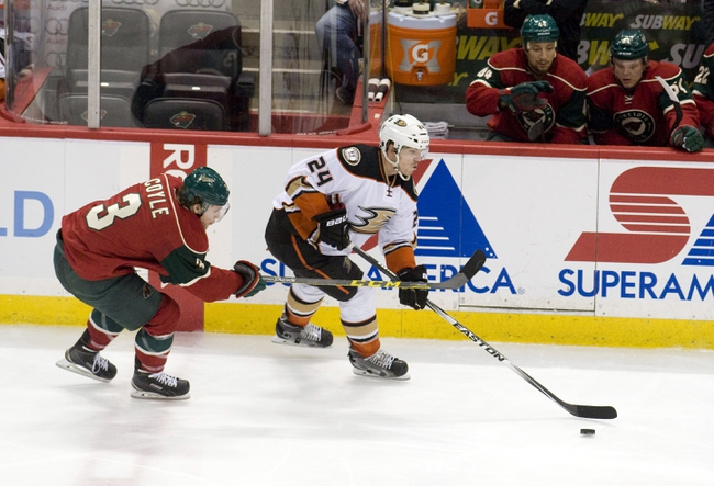 Minnesota Wild vs. Anaheim Ducks - 10/24/15 NHL Pick, Odds, and Prediction