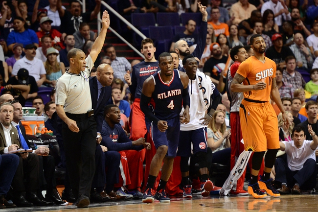 Suns at Hawks - 4/7/15 NBA Pick, Odds, and Prediction